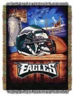 Philadelphia Eagles NFL Woven Tapestry Throw