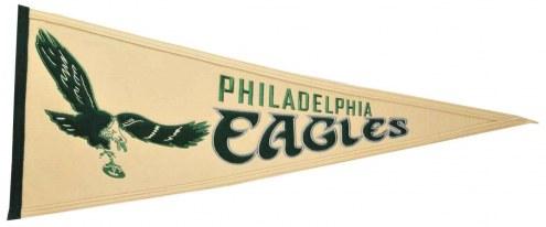 Philadelphia Eagles NFL Throwback Pennant