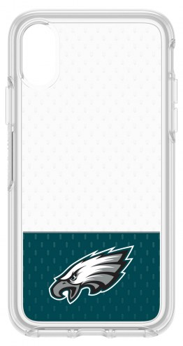 Philadelphia Eagles OtterBox iPhone X Symmetry Clear Case