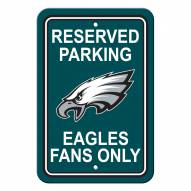 Philadelphia Eagles Parking Sign