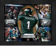 Philadelphia Eagles Personalized 11 x 14 Framed Action Collage