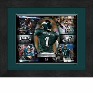 Philadelphia Eagles Personalized 13 x 16 Framed Action Collage