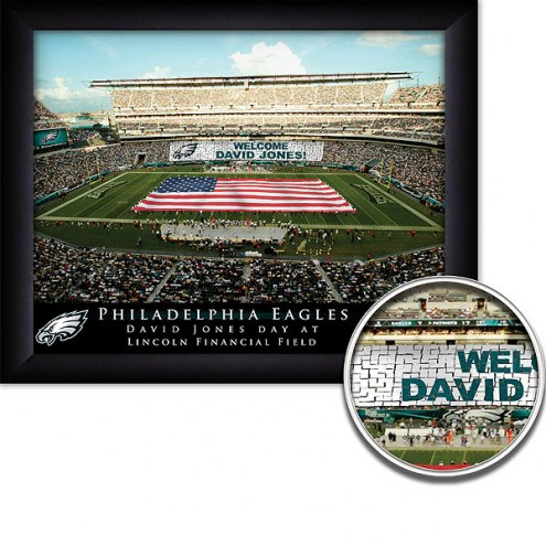 Philadelphia Eagles 11 x 14 Personalized Framed Stadium Print