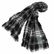 Philadelphia Eagles Plaid Crinkle Scarf