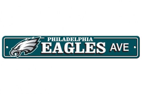 Philadelphia Eagles Plastic Street Sign