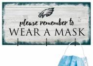 Philadelphia Eagles Please Wear Your Mask Sign
