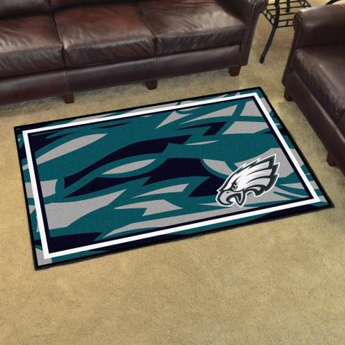 Philadelphia Eagles Quicksnap 4' x 6' Area Rug