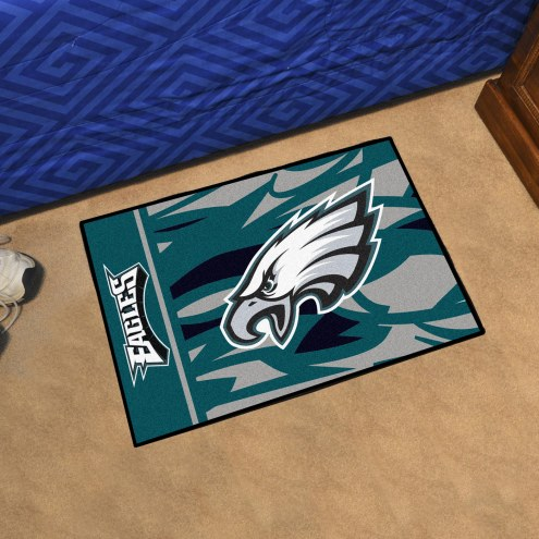 Philadelphia Eagles Quicksnap Starter Rug