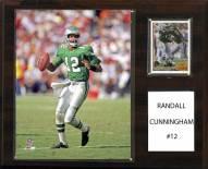 "Philadelphia Eagles Randall Cunningham 12"" x 15"" Player Plaque"