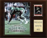 "Philadelphia Eagles Reggie White 12 x 15"" Player Plaque"