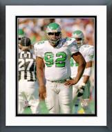 Philadelphia Eagles Reggie White Action Framed Photo