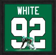 Philadelphia Eagles Reggie White Uniframe Framed Jersey Photo