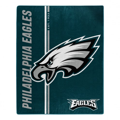 Philadelphia Eagles Restructure Raschel Blanket