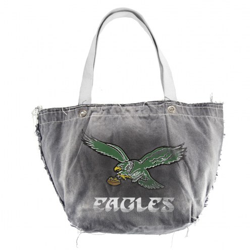 Philadelphia Eagles Retro NFL Vintage Tote Bag