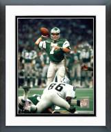 Philadelphia Eagles Ron Jaworski Prepare to Pass Framed Photo