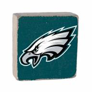 Philadelphia Eagles Rustic Block