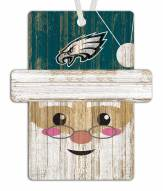 Philadelphia Eagles Santa Ornament