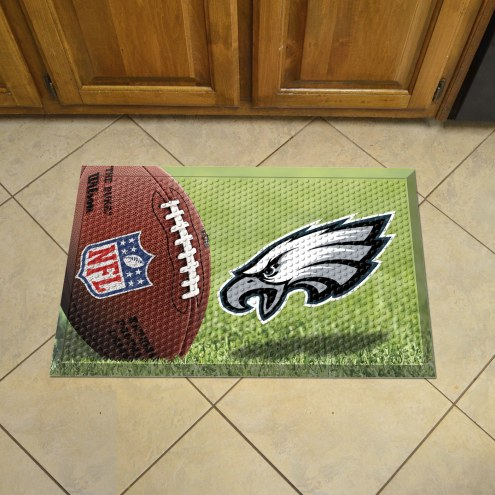Philadelphia Eagles Scraper Door Mat