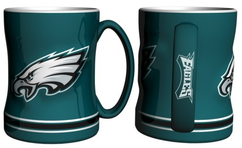Philadelphia Eagles Sculpted Relief Coffee Mug