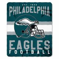 Philadelphia Eagles Singular Fleece Blanket