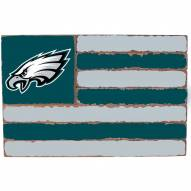 Philadelphia Eagles Small Flag Wall Art