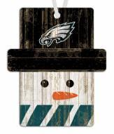 Philadelphia Eagles Snowman Ornament