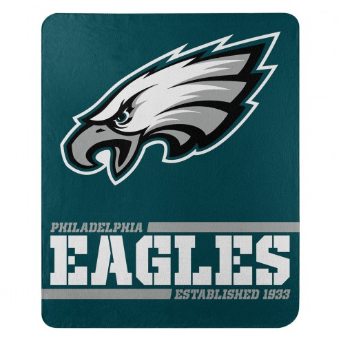 Philadelphia Eagles Split Wide Fleece Blanket
