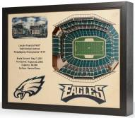 Philadelphia Eagles 25-Layer StadiumViews 3D Wall Art