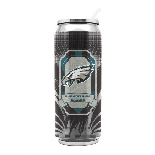 Philadelphia Eagles Stainless Steel Thermo Can