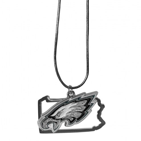 Philadelphia Eagles State Charm Necklace