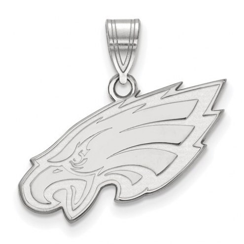 Philadelphia Eagles Sterling Silver Medium Pendant