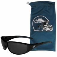 Philadelphia Eagles Sunglasses and Bag Set