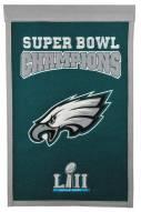 Philadelphia Eagles Super Bowl Champs Banner
