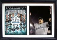 "Philadelphia Eagles Super Bowl LII Champions 12"" x 18"" Double Frame"