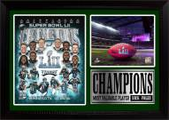 "Philadelphia Eagles Super Bowl LII Champions 12"" x 18"" Photo Stat Frame"