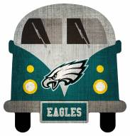 Philadelphia Eagles Team Bus Sign