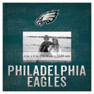 "Philadelphia Eagles Team Name 10"" x 10"" Picture Frame"