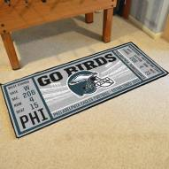 Philadelphia Eagles Ticket Runner Rug