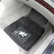 Philadelphia Eagles Vinyl 2-Piece Car Floor Mats
