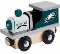 Philadelphia Eagles Wood Toy Train