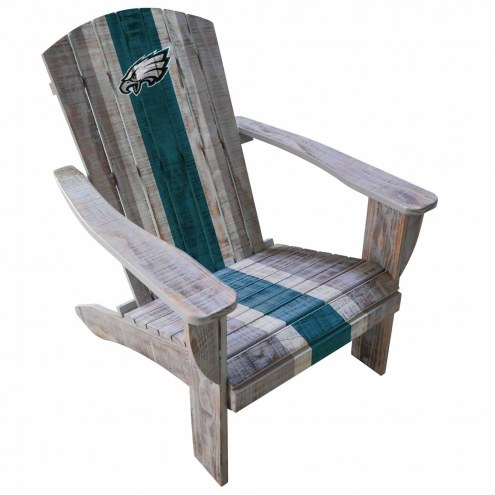 Philadelphia Eagles Wooden Adirondack Chair