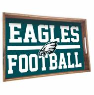 Philadelphia Eagles Wooden Serving Tray