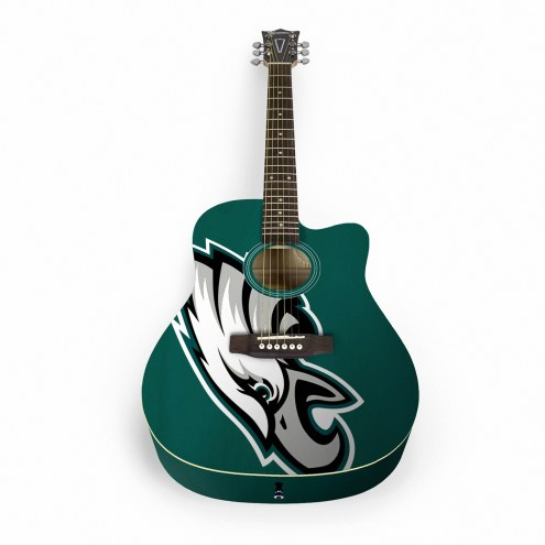 Philadelphia Eagles Woodrow Acoustic Guitar