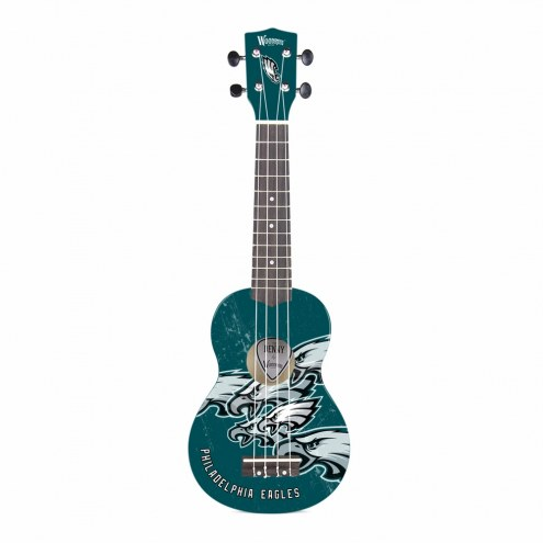 Philadelphia Eagles Woodrow Denny Ukulele