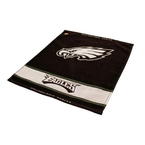 Philadelphia Eagles Woven Golf Towel