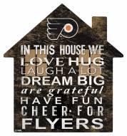 "Philadelphia Flyers 12"" House Sign"