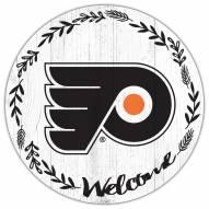 "Philadelphia Flyers 12"" Welcome Circle Sign"