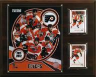 """Philadelphia Flyers 12"""" x 15"""" 2011 Team Plaque"""