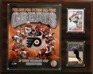 "Philadelphia Flyers 12"" x 15"" All-Time Great Photo Plaque"