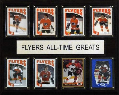 "Philadelphia Flyers 12"" x 15"" All-Time Greats Plaque"